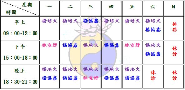 醫師門診異動公告(痞克邦專用)105.05.07