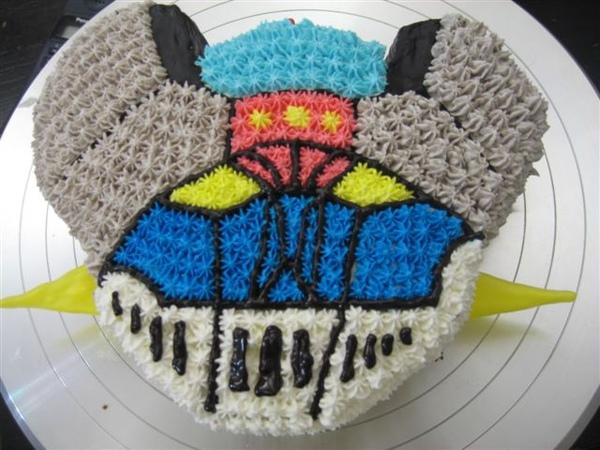 無敵鐵金剛造型蛋糕