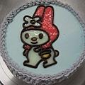 美樂蒂造型蛋糕