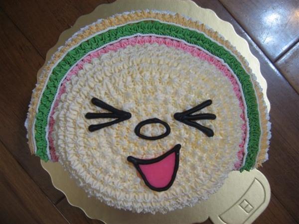 立體open小將造型蛋糕