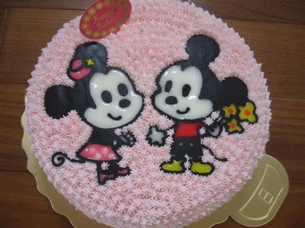 米奇米妮造型蛋糕