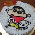 蠟筆小新造型蛋糕