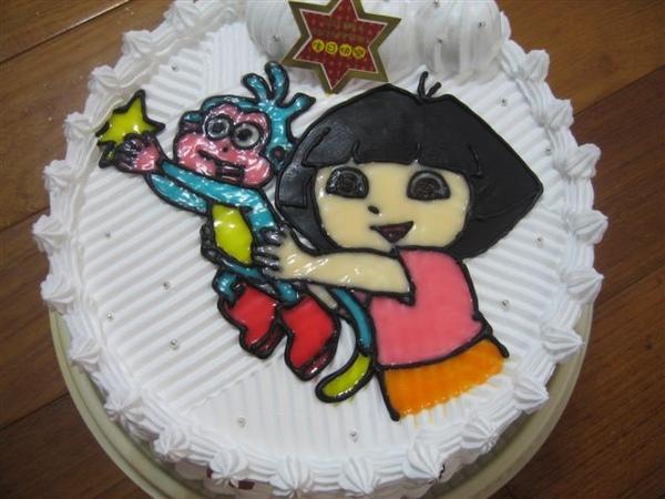 Dora造型蛋糕