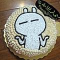 兔斯基造型蛋糕