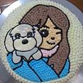 Q版造型蛋糕