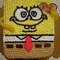 海綿寶寶造型蛋糕