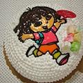 Dora造型蛋糕2
