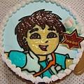 Diego造型蛋糕