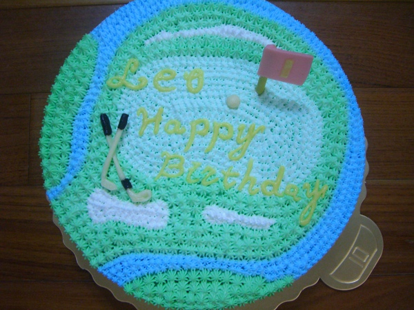 果嶺造型蛋糕2
