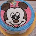 米奇寶寶造型蛋糕