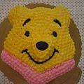 小熊維尼造型蛋糕