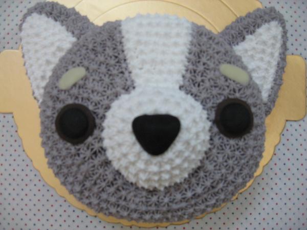 立體小狗造型蛋糕