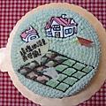 開心農場造型蛋糕