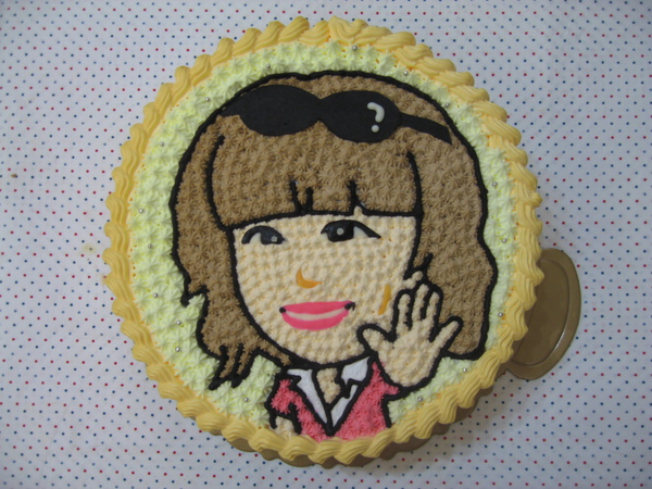 Q版人物造型蛋糕
