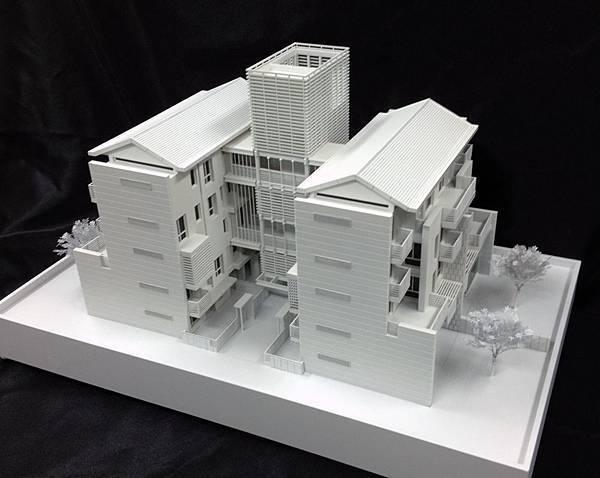 朱弘楠建築師先得月素模(樓梯間)