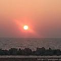 2013年最後一天的夕陽