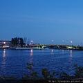 水景橋夜色
