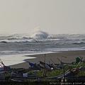 鋒面過境雨後的大風浪