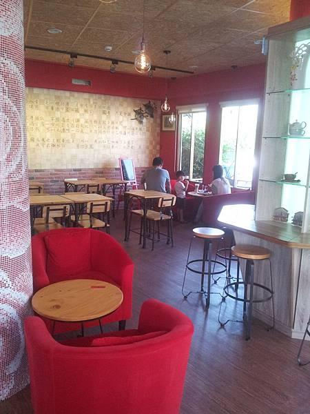 北屯區 紅色咖啡館 6