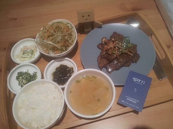北屯區 韓國餐桌밥상 - 2