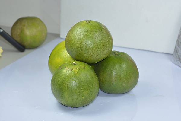 青皮葡萄柚外觀