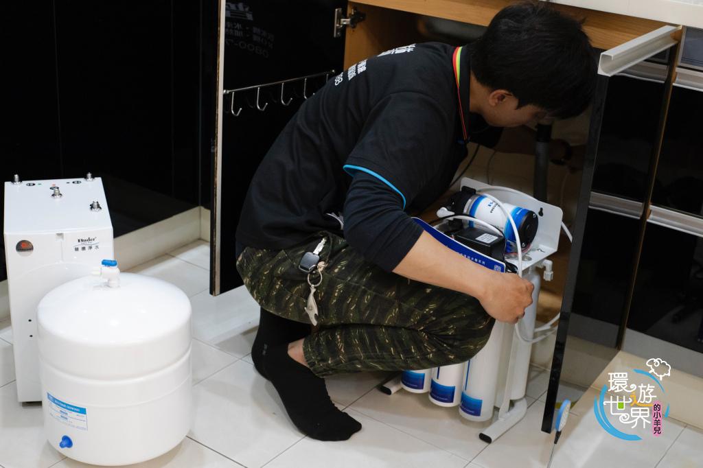 普德飲水機安裝-2019台灣精品獎一級能效廚下型觸控式飲水機BD-3004N I-7