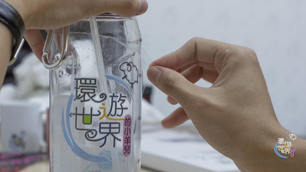 客製化保溫瓶UV膠膜轉貼過程-UV直噴機推薦