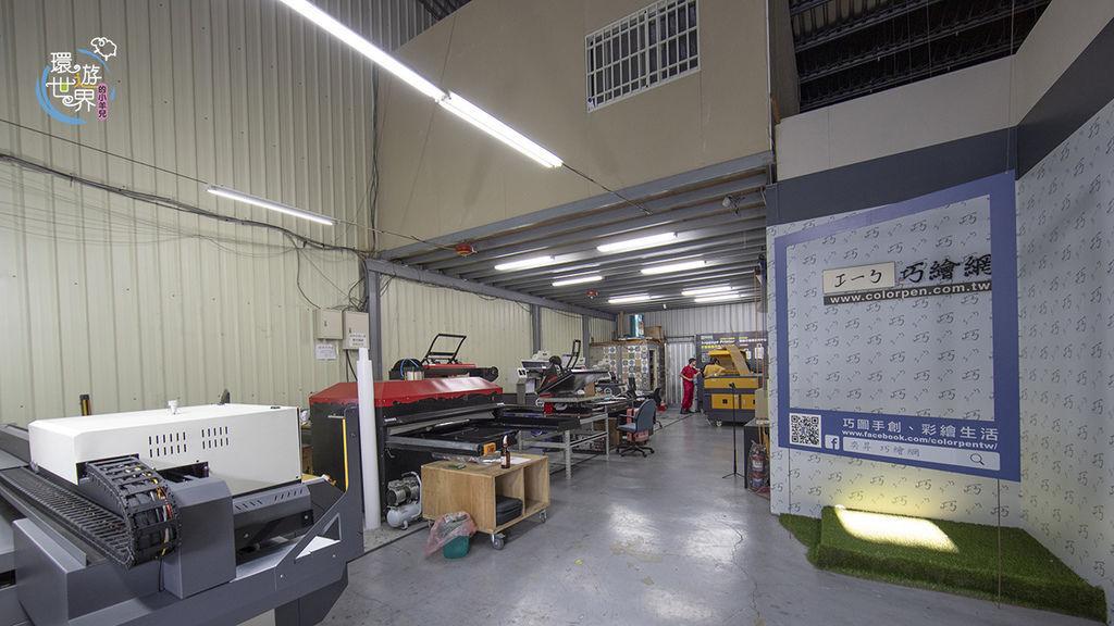 奕昇設備操作體驗-UV直噴機推薦