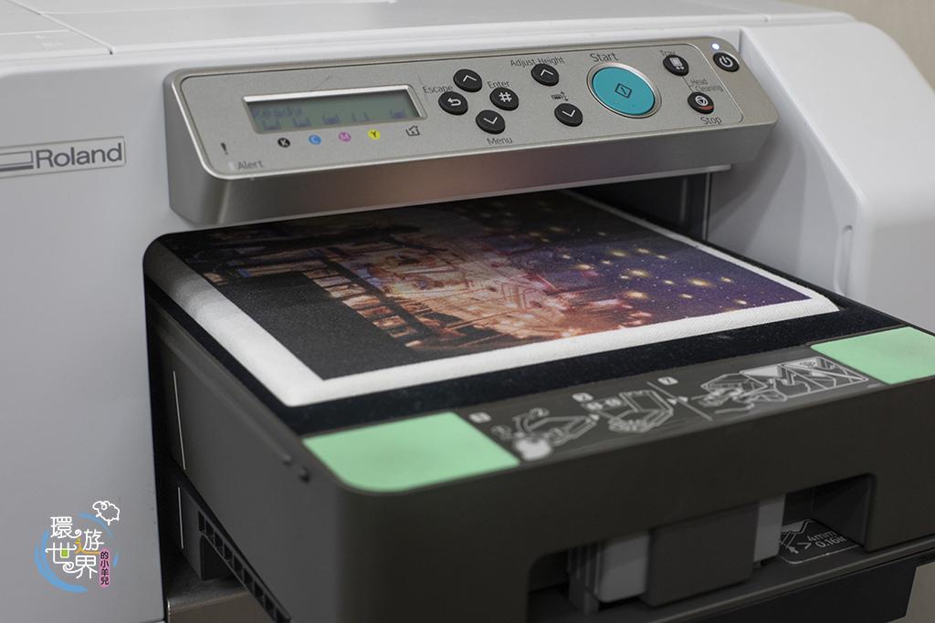 客製化托特包噴印過程-紡織直噴機推薦