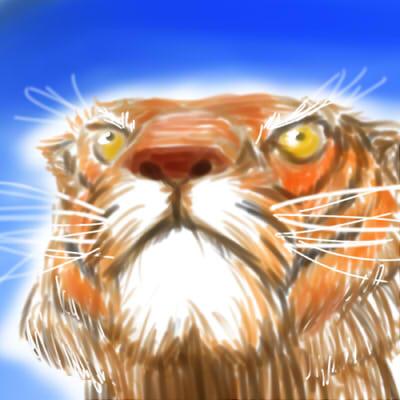 塗鴉-老虎