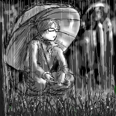 雨夜中的演唱會
