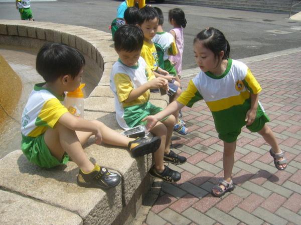 請同學吃海苔