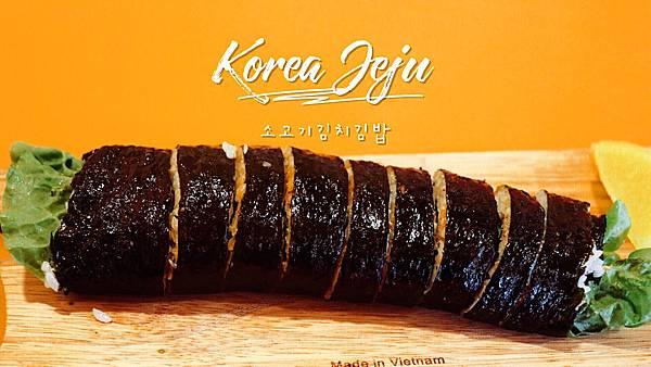 【東食】濟州島美食-西歸浦人氣早餐「兔子飯捲」(다정이네김밥) 吃一口紫菜包飯元氣滿滿