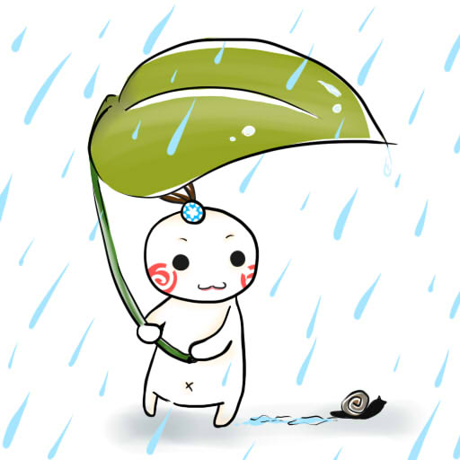 清明連假雨濛濛