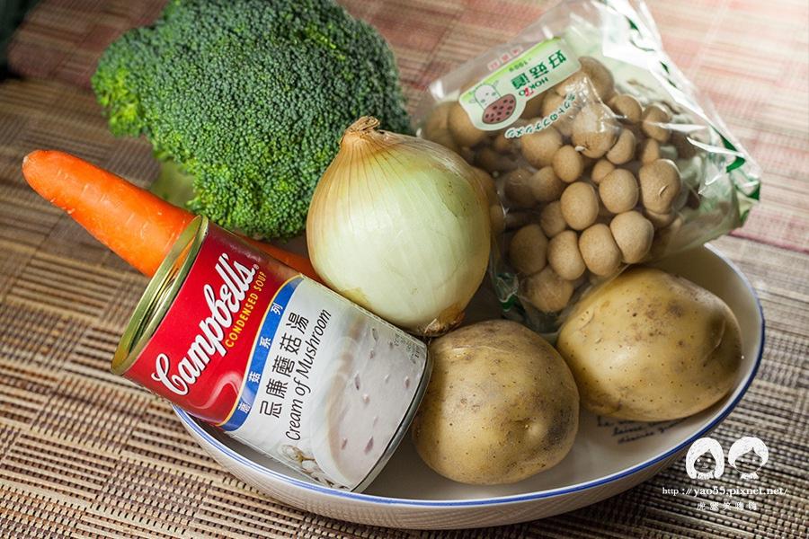 宅鮮配 日本原裝生食級干貝4S級  奶油燉蔬菜佐干貝