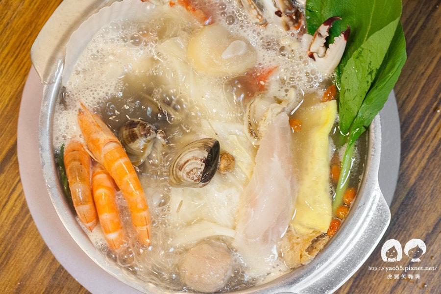 五鮮級平價鍋物專賣 海鮮總匯鍋 龍骨 NT198