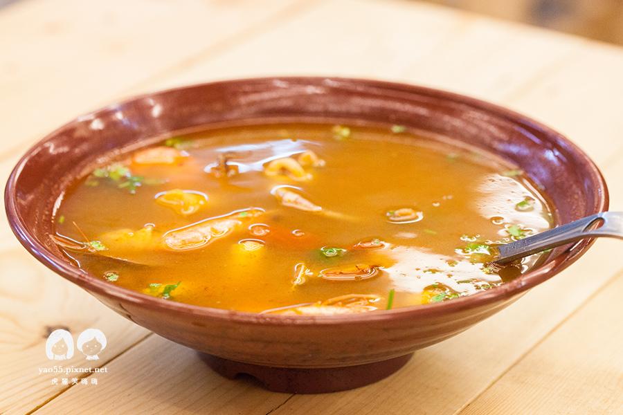 泰棧 平價泰式料理 酸辣海鮮湯 N120