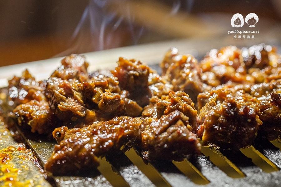 大阪燒肉雙子Futago 壺漬特製調味牛肋肉 NT480