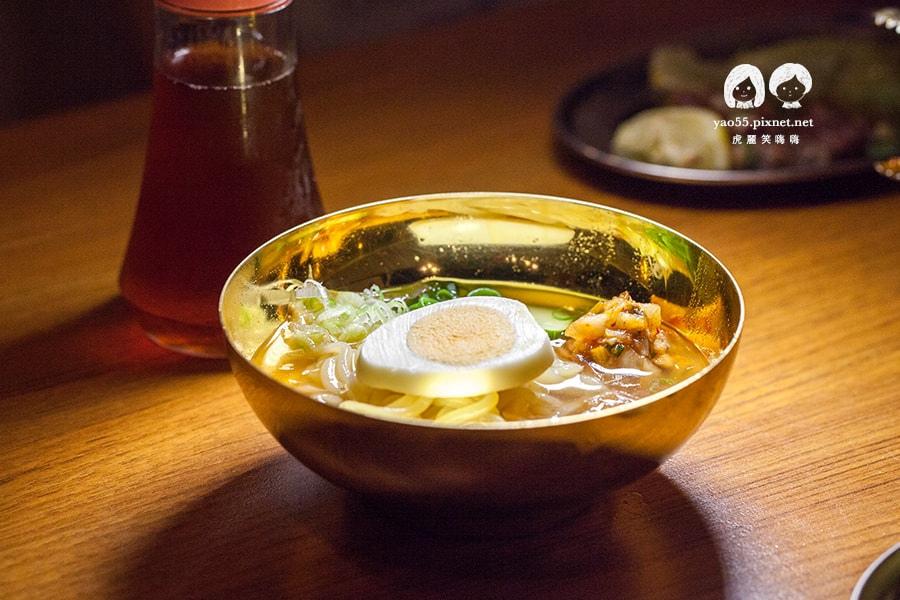 大阪燒肉雙子Futago 極致講究的特製一口冷麵 NT130