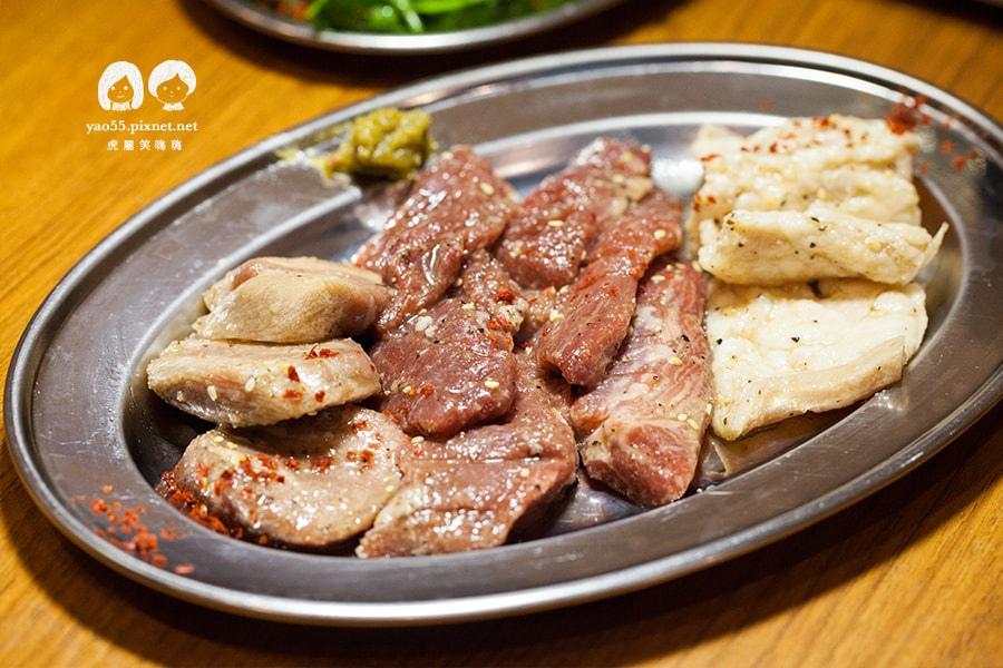 大阪燒肉雙子Futago 內臟MIX拼盤