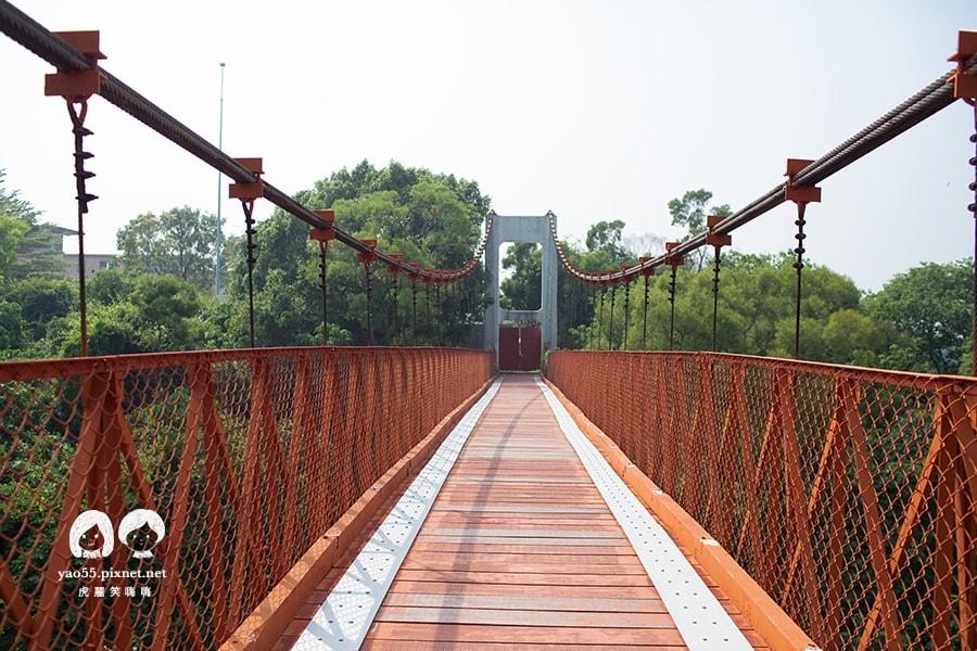 烏山頭水庫 吊橋