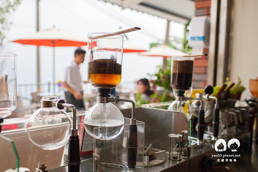 關子嶺 喝咖啡 虹吸咖啡