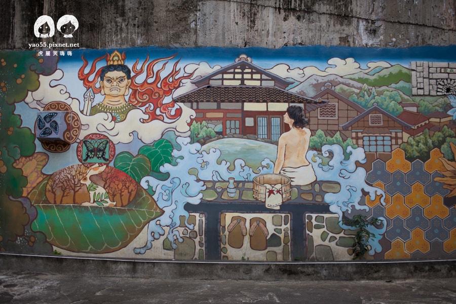 寶泉橋 壁畫 日本