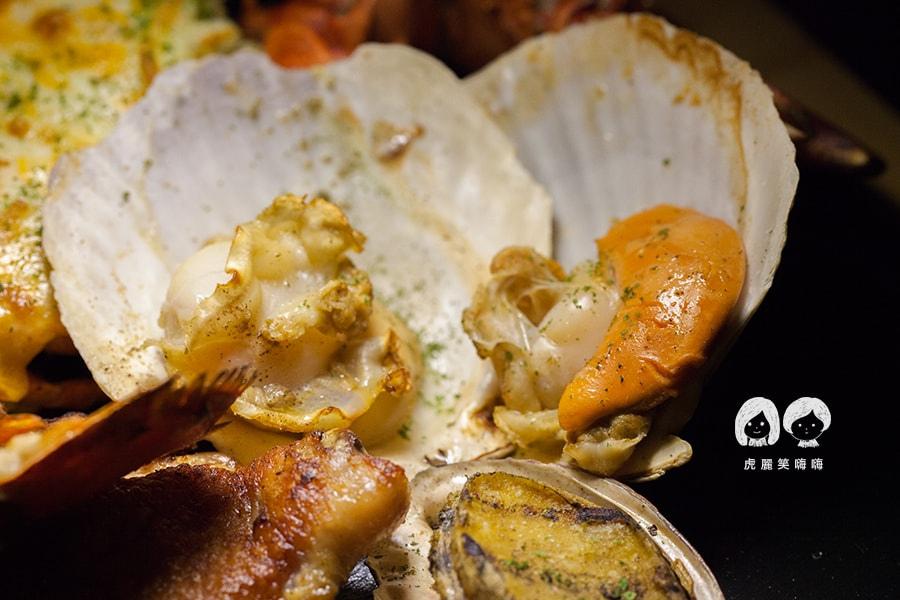 TC廚房 波士頓龍蝦 海陸雙人套餐 扇貝