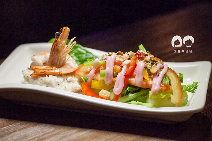 TC廚房 波士頓龍蝦套餐 沙拉