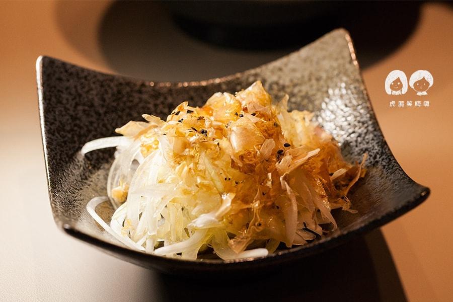 研田拉麵 涼拌洋蔥 NT35