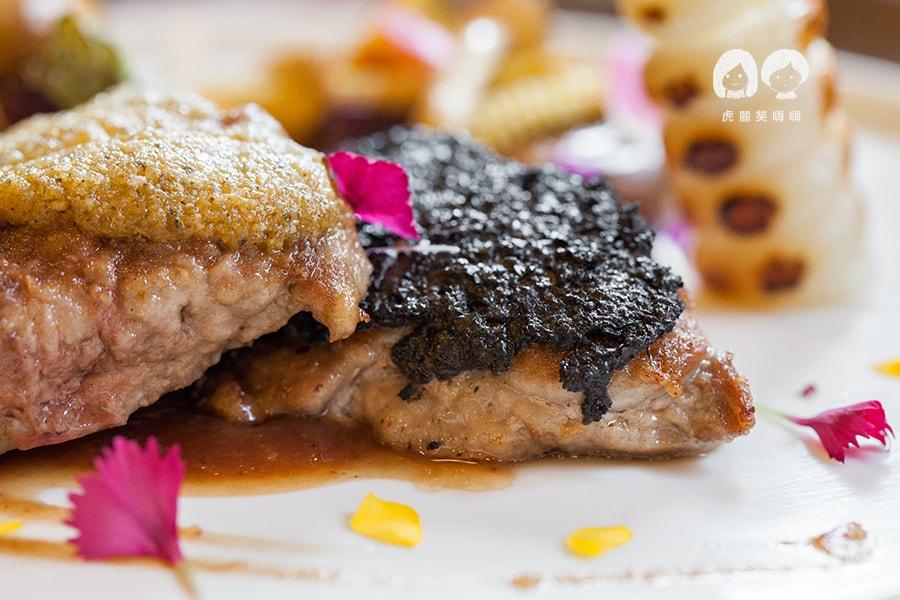 奇可小廚 西班牙伊比利豬佐肉桂焦糖蘋果醇酒醬 NT920