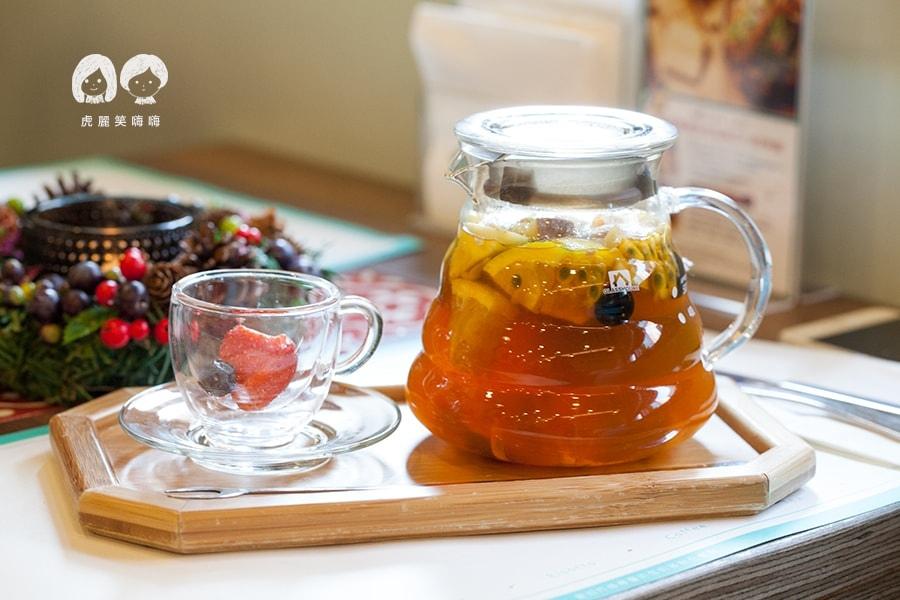 奇可小廚 節日限定 季節限定水果茶 NT140