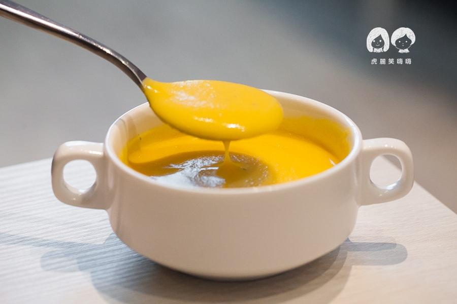 克洛普水素水餐廳 莎拉搭配的每日例湯