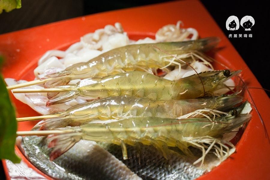 麻花重慶火鍋 活蝦 麻辣鍋